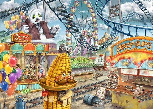 Casse-tête Escape Puzzle - Le Parc d'Attraction - 368 mcx
