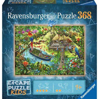 Casse-tête Escape Puzzle - Un Safari dans la Jungle - 368 pcs