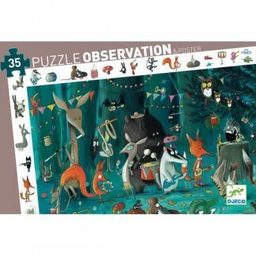 Casse-Tête Observation l'orchestre 35 pc + Poster