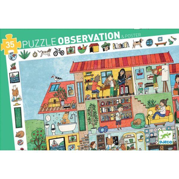 Casse-Tête Observation La Maison 35 pc + Poster