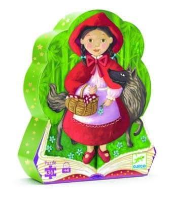 Casse-Tête Silhouette - Le Petit Chaperon Rouge 36 pcs
