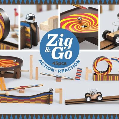 Zig & Co - Action réaction - 45 pcs