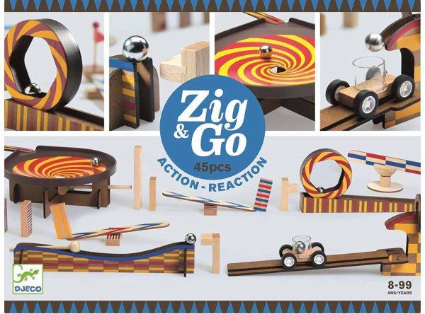 Zig & Co - Action réaction - 45 pcs
