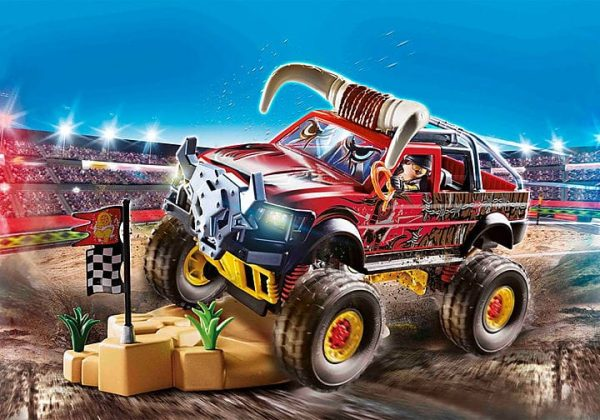 Playmobil Stuntshow - 4x4 de Cascade Taureau # 70549