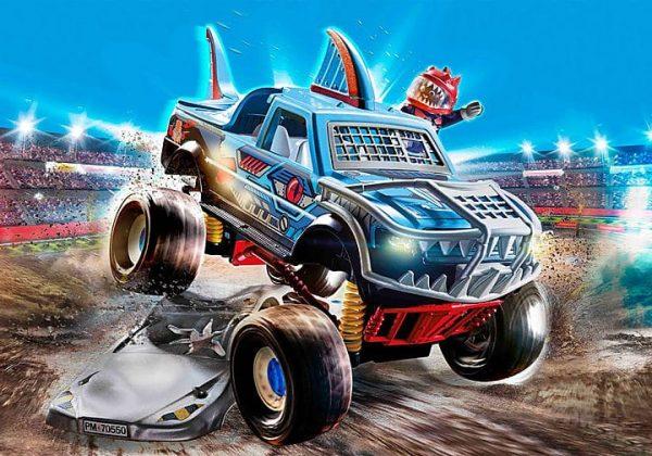 Playmobil Stuntshow - Monster Truck de Cascade Requin # 70550