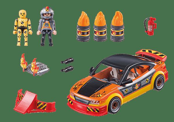 Playmobil Stuntshow - Voiture crash test avec mannequin # 70551