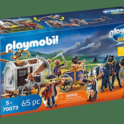 Playmobil The Movie - Charlie avec convoi de prison # 70073