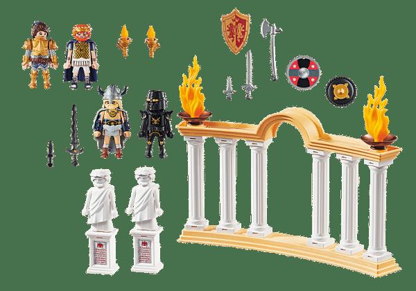 Playmobil The Movie - Empereur Maximus et Colisée # 70076