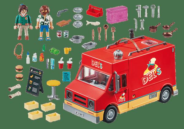Playmobil The Movie - Food Truck de Del # 70075