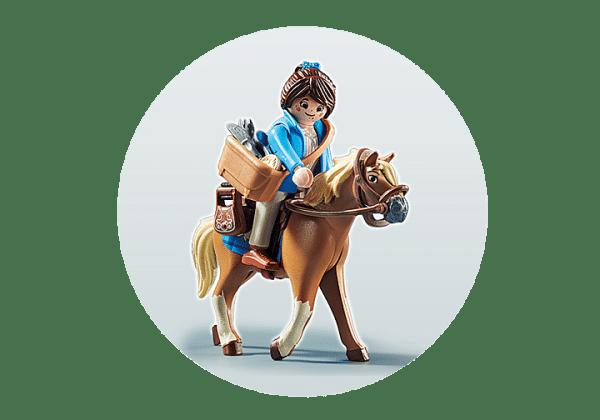 Playmobil The Movie - Marla avec Cheval # 70072