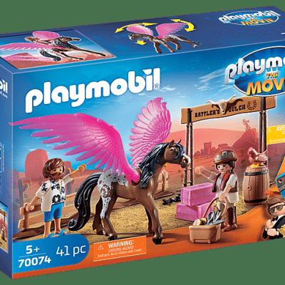 Playmobil The Movie - Marla et Del avec cheval ailé # 70074
