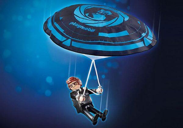 Playmobil The Movie - Rex Dasher avec Parachute # 70070